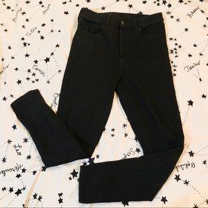 American Eagle Highwaisted Black Skinny Jeans